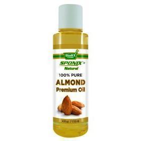 Almond Premium Natural Skincare Oil - 4 oz